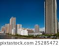 沿海地区的高层建筑 25285472