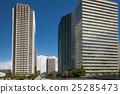沿海地区的高层建筑 25285473