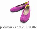 Purple sneakers. Canvas Shoe. 25288307