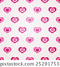 valentine seamless hearts pattern 25291753