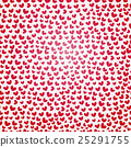 valentine seamless hearts pattern 25291755