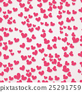valentine seamless hearts pattern 25291759