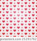 valentine seamless hearts pattern 25291762