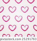 valentine seamless hearts pattern 25291763
