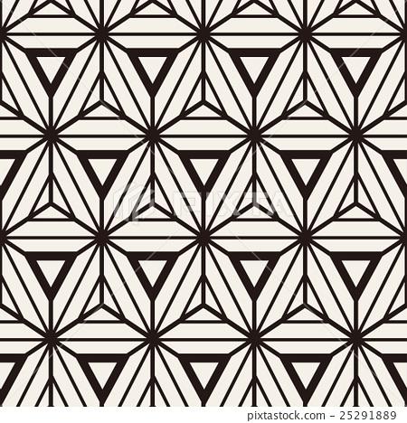 Abstract geometric seamless pattern. 25291889