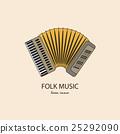 Music instrument. Vector 25292090