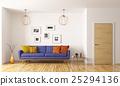 3d, interior, living 25294136