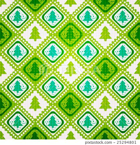 Seamless Christmas tree 25294801
