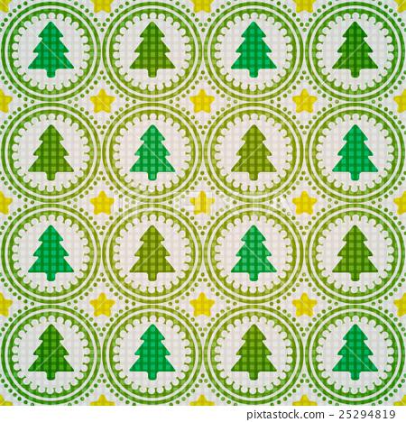 Seamless Christmas tree 25294819