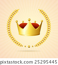 Vector golden royal crown 25295445