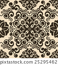 vector seamless floral pattern background 25295462