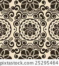 vector seamless floral pattern background 25295464