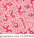 vector seamless floral pattern background 25295468