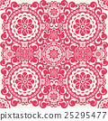 vector seamless floral pattern background 25295477