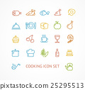 cooking, outline, line 25295513