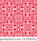 vector seamless floral pattern background 25296561