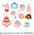 케이크, 도넛, 선물 25300961