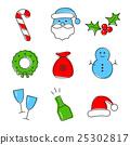 Christmas icon set 25302817
