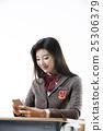 Asian Highschool Students 25306379