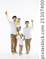 A portrait of a Happy Asian Family 25307400