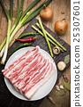 Fresh Uncooked Pork 25307601