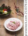 Fresh Uncooked Pork 25307610