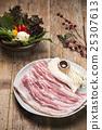 Fresh Uncooked Pork 25307613