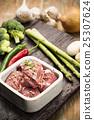 Fresh Uncooked Pork 25307624