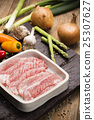 Fresh Uncooked Pork 25307627