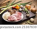 Fresh Uncooked Pork 25307630