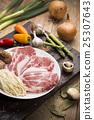 Fresh Uncooked Pork 25307643
