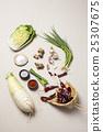 Korean Traditional Food - Kimchi Ingredients(Cabbage,Ginger,Garlic,Garlic Cloves,Green Onion,Spring Onions,Shallots,Dried Pepper,Radish,Chili Powder,Salt,Kosher Salt,) 25307675