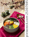 Korean Traditional Food - Bibimbap (Mixed Rice,Asian Cuisine) 25307685