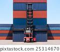 叉车 船运 装货 25314670