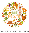 thanksgiving day icon 25316006