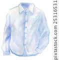 수채화 일러스트 패션 Y 셔츠 25316531
