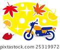 autumn, autumnal, bike 25319972