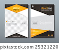 Flyer design template vector, Book cover. 25321220