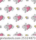 treble clef note 25324873