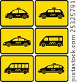 汽車 出租車 車 25325791