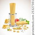 set ingredient spaghetti 25327301