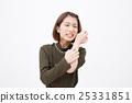 여성, 여자, 가렵다 25331851