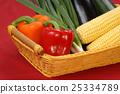 corn, pepper, vegetable 25334789