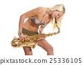 female, musical, instrument 25336105