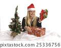 christmas, female, girl 25336756