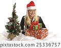 christmas, christmas tree, present 25336757