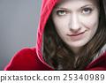 female, hood, woman 25340989