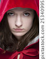 little red riding hood, portrait shots, red jacket 25340995