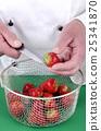 fruit, knife, strawberries 25341870