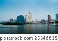 Skyline of Macau city at Nam Van Lake 25346615